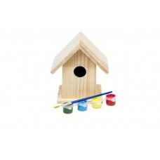 Värvitav linnumaja