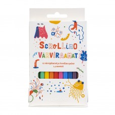 Scrollino Värviraamat